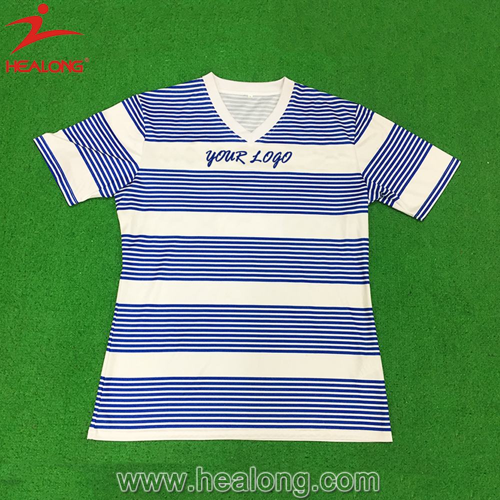 Paypal Usa Striped Wholesale Soccer Jersey