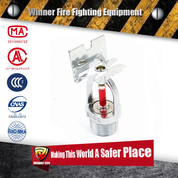 Side-wall type Glass Bulb ul listed sprinklers for fire fighting