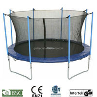 GSD 12FT Outdoor Trampoline for sale with certificate GS CE EN71