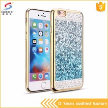 Multi-color/style new design electroplate bling crystal case for iphone 7