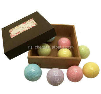 9 pack bath gift sets 100% handmade bath bombs