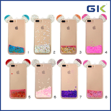 [GGIT] Luxury Mickey Design Liquid TPU Phone Case For IPhone 7 Plus Back Cover