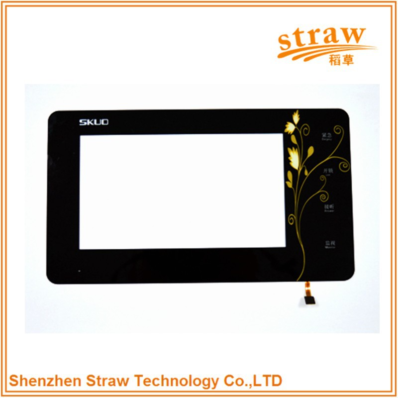High Quality 7 Inch Built-in Linux Touch Panel For Internet Of Things With WIFI Supported