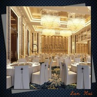 Restaurant 3d Max Interior Design
