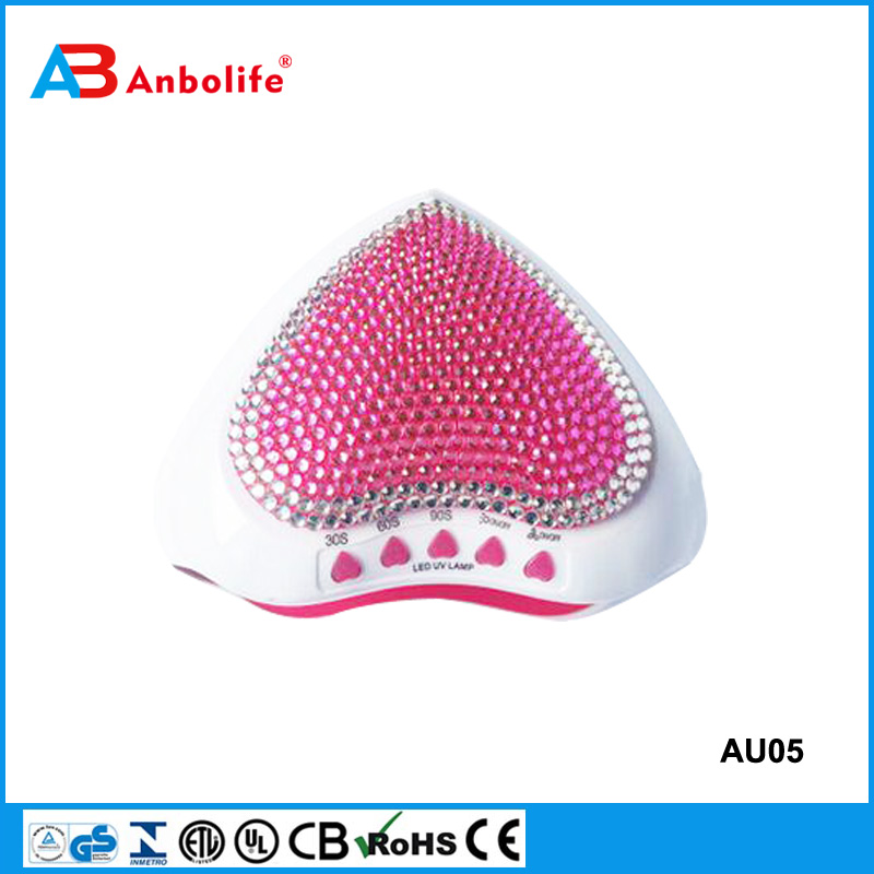 Anbolife uv nail dryer manicure dryer professional nail dryer uv lamp curing nail gel with sensor