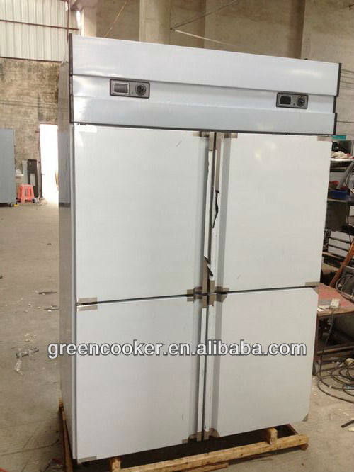 commercial kitchen refrigerator/stainless steel exterior and interior