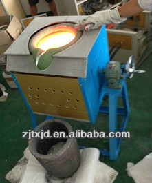 Scrap Metal Induction Melting Furnace From China Supplier