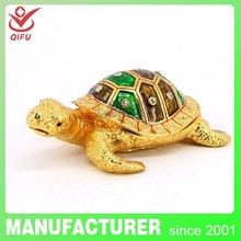 2014 trending hot products tortoise shape metal cheap item to sell(QF4031)