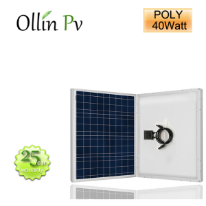 40W Polycrystalline Solar Panel pv cells 40W