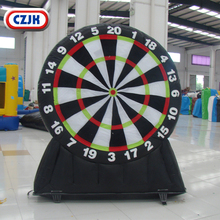 inflatable mini outdoor park sport golf chipping dart game for adults