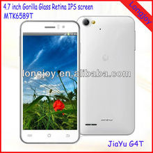 "Android 4.2 cell phone MTK6589T Quad core 4.7"" IPS Gorilla glass screen 13MP camera"