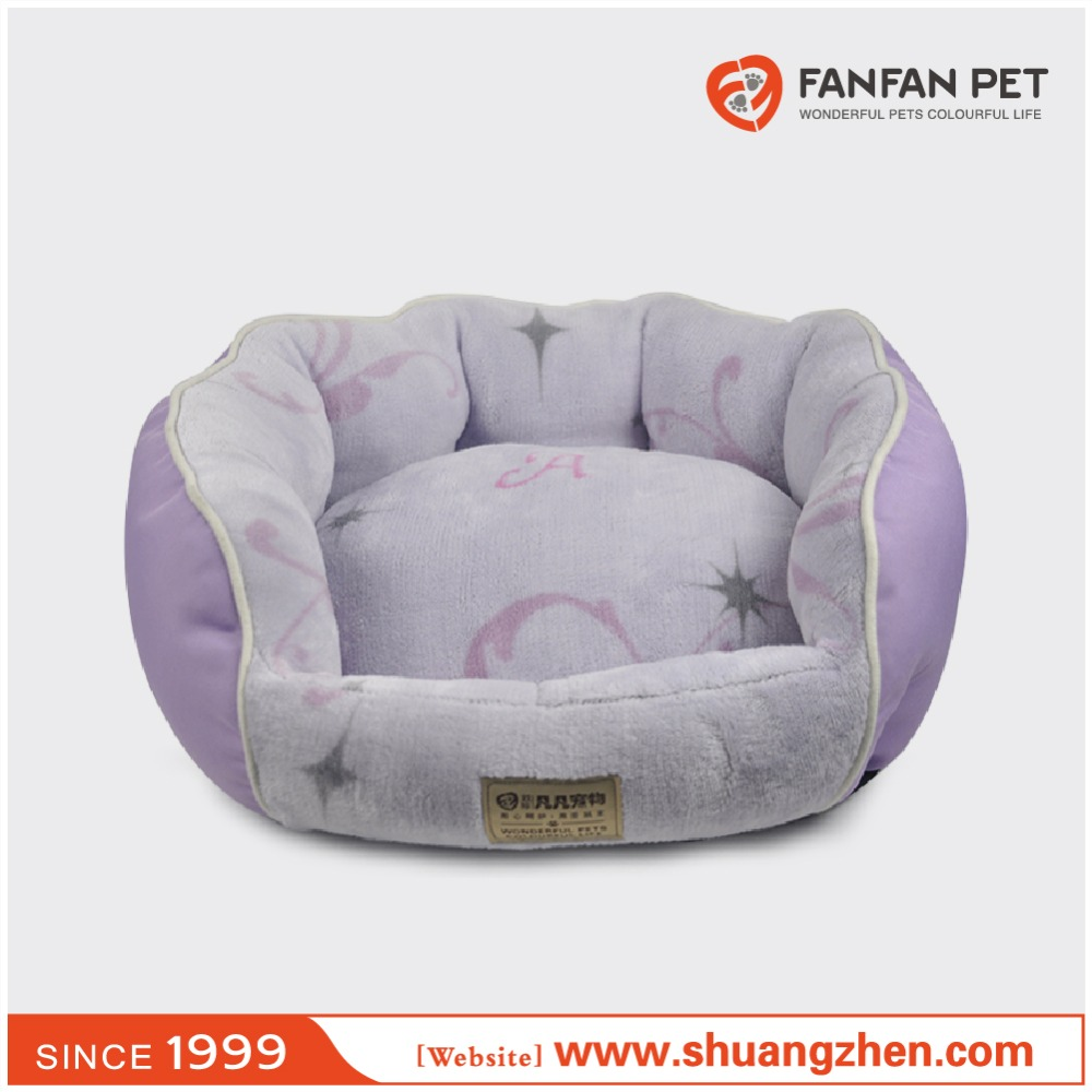 Beautiful pattern and durable washable pet bed pet nest