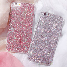 Bling Glitter phone case Soft TPU Case Cover For iPhone 6 6s 7 7 Plus 8 8 plus