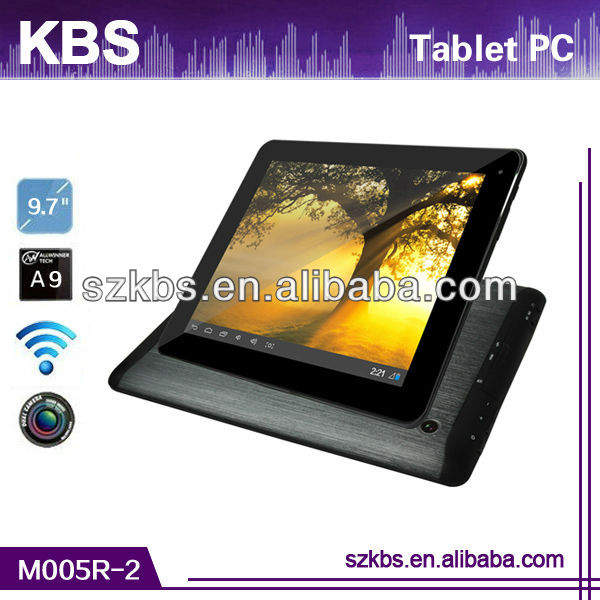 2013 Newest Styles tablet pc allwinner a10 With Quad-Core,Extra 3G