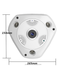 1.3MP 3.0MP Wireless WiFi Panoramic CCTV Camera 360 degree VR camera Two Way Audio WIFI Panoramic Home Security CCTV Camera