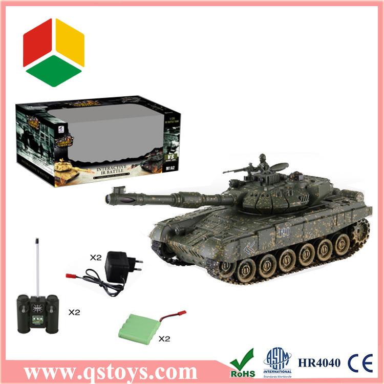 Hot sell rc military tank toy with EN71