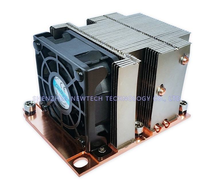 2017 New CPU/Server Intel LGA 3647 2U heat sink /3647 aluminum heat sink with fan