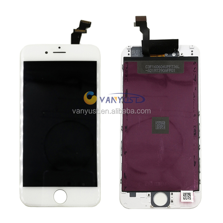 Lowest Return Rate High Quality Mobile Phone LCD repair replacement for iphone 6 6G LCD Manufacturer from China