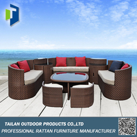 Modern Sofa Set Designs Of Rattan
