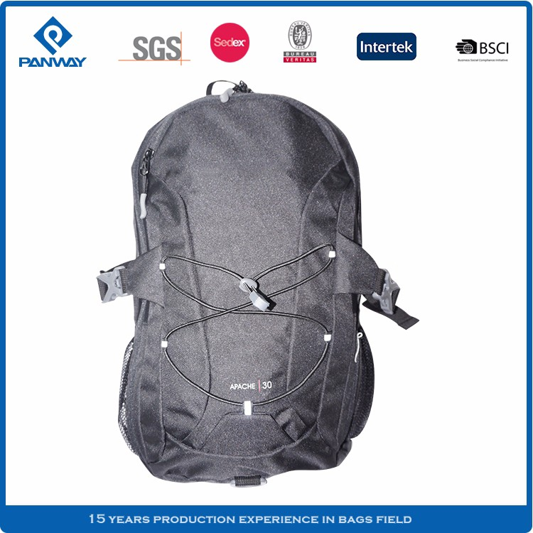 Crazy Sell Black Nylon Polyester Man Soccer Backpack