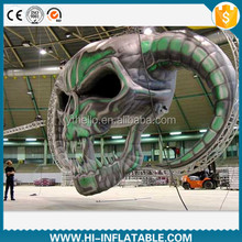 Best-sale halloween decoration structure inflatable skull