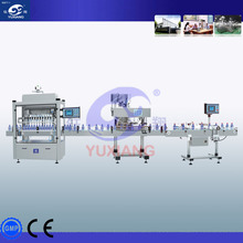 Cosmetic product Eye drop 's small bottle filling capping packing line