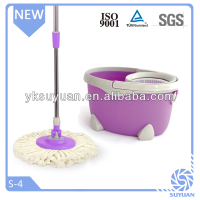 new design magic floor hurry mop with hand-pressing handle