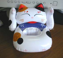 Lovely Cat Design Giant Plastic Inflatable Chair Inflatable China Sofa