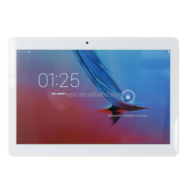 Tablet 10.1 inch MTK Quad Core Android 4.4 OS 1920*1200 IPS WCDMA 3G Phablet 1GB 16GB