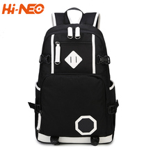 School canvas fashion durable mochilas backpack school bag for teens