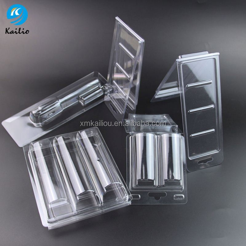 Custom clear plastic clamshell packaging,clear plastic blister clamshell packaging,plastic blister packaging with insert card