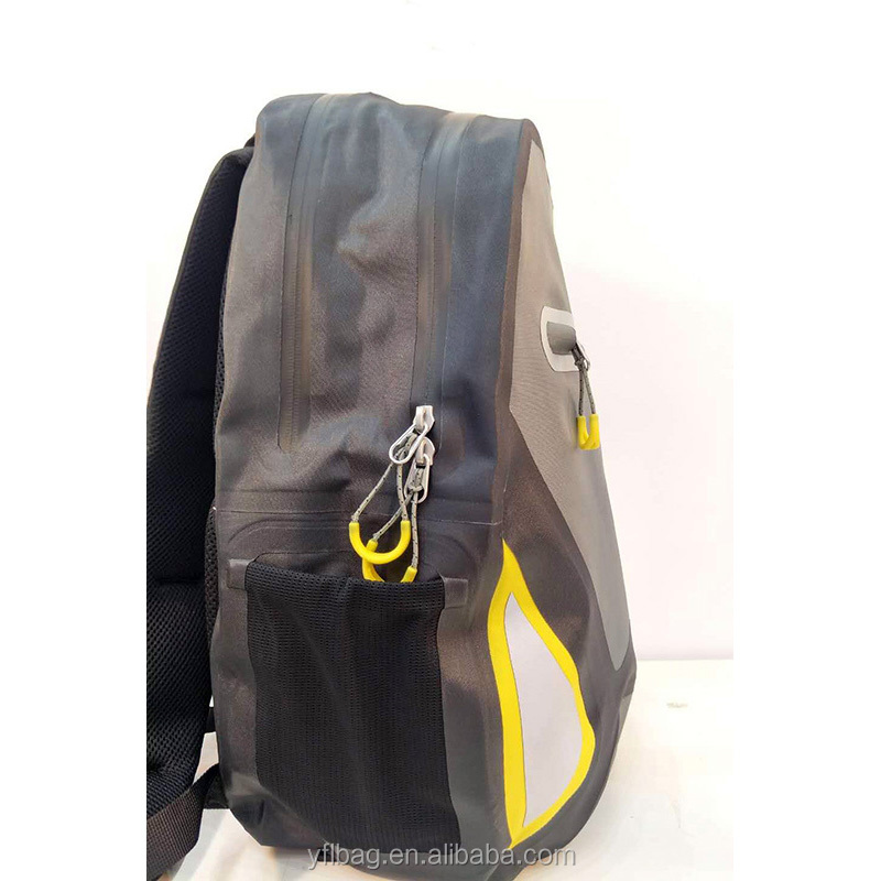 Welded backpack
