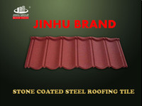 coffee brown Shingle colored clay metal roofing tile for villa building