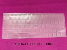 completely fit keyboard keys transparent TPU Keyboard Cover for laptop 14CR