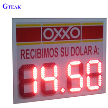 Outdoor waterproof gas station led price sign shenzhen manufacture