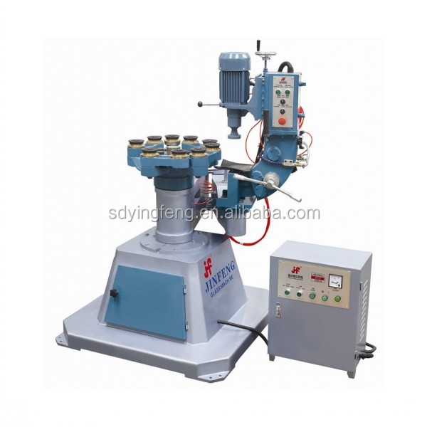 Used glass irregular grinding polishing machine