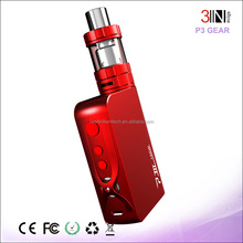 8 Shiftable Gears Temperature Control 100W P-III Gear Electronic Cigarette Free Sample Free Shipping