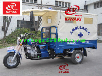 Africa 175CC ambulance tricycle