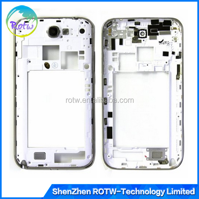 China suppliers middle housing for Samsung Galaxy note 2 N7100 T989 i317