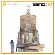 China supplier wholesale travel mens hanging military toiletry bag