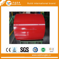 hot dipped color precoated steel sheet