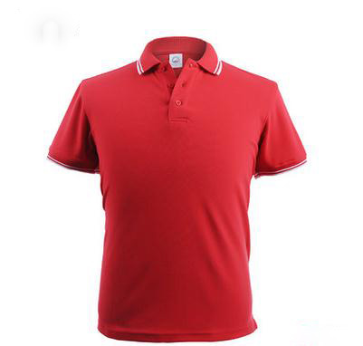 high quality polo shirts custom embroidery mens dry fit red color polo t-shirt canda 100% cotton pique polo 220g golf tees