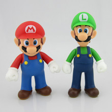 Super mario toy custom plastic toy action figure manufacturer
