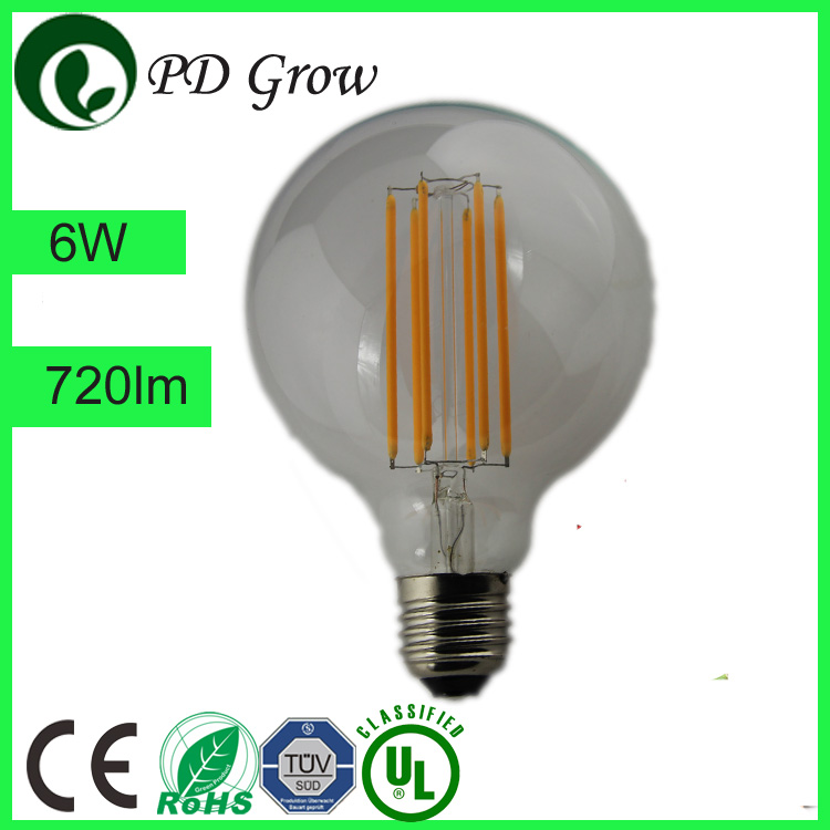 Energy saving element 1W G80 ceramic LED Light Bulb,led filement bulb