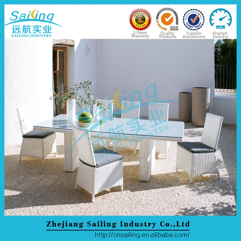 Sailing All Weather Sea Side Havana Garden Ridge Outdoor Pvc Rattan Furniture