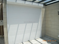 Motorized Outdoor Aluminum Roller Shutter Door