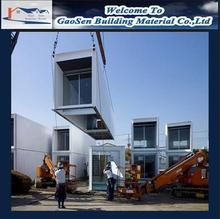 Wholesale one bedroom modular homes low cost prefab container house china container house with great price