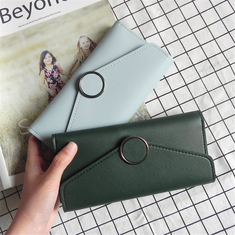 2017 new arrival fashion ultrathin PU leather women wallet phone case