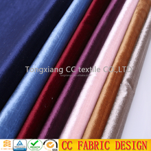 indonesia/italian/korea/surat micro plain solid thick velvet sofa fabric for dress ,clothing ,curtain ,home textiles
