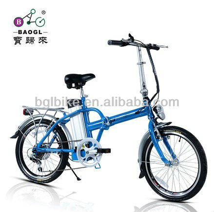 36V 10AH lithium battery 20 inch folding electric bikes 250W brushless motor